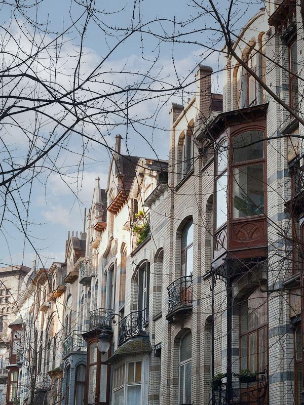 Art-nouveau huizen