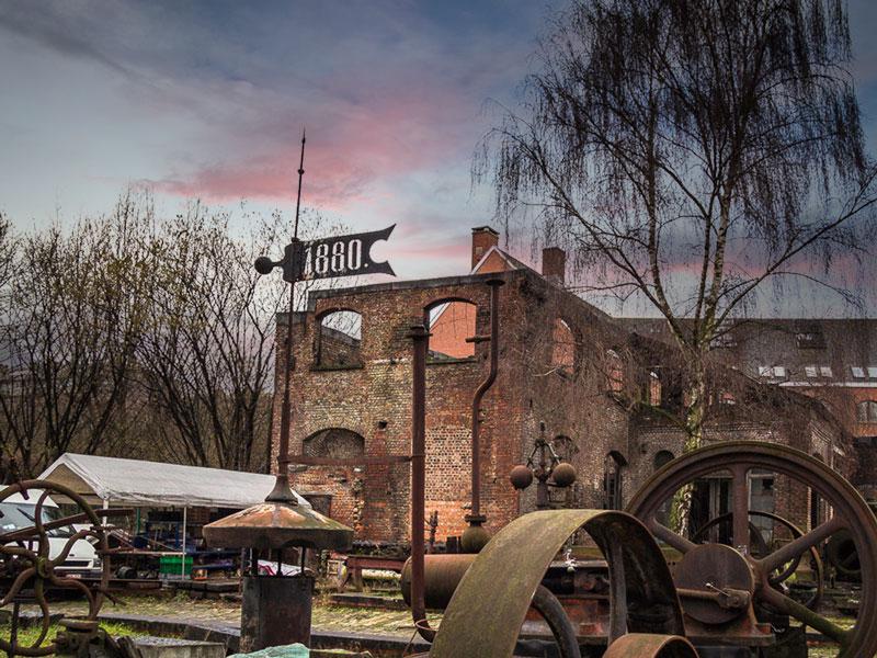 La fonderie old machines