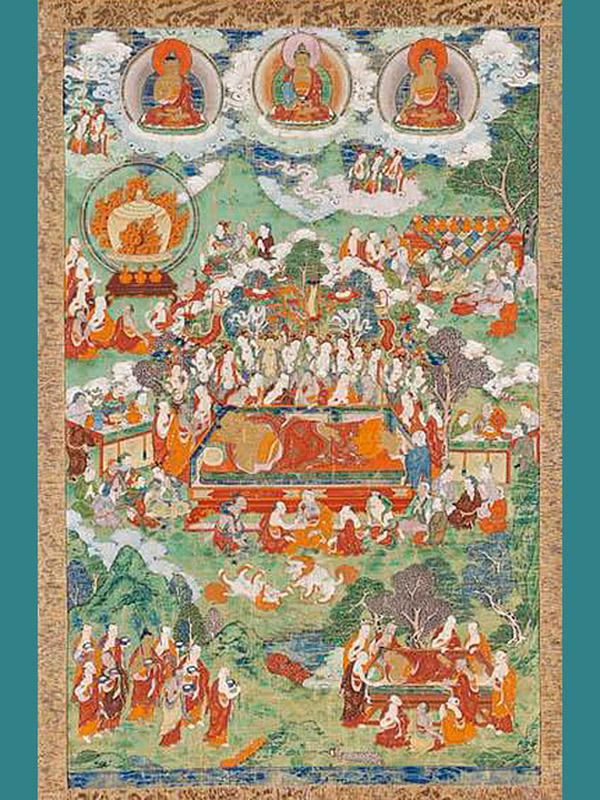 Nepalese tapijt