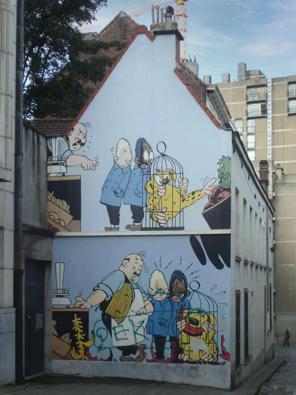 Blondie & Blinkie in de Kapucijnenstraat