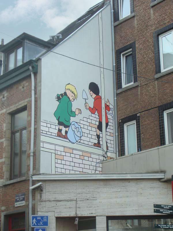 Kwik & Flupke in de Ons-Heerstraat