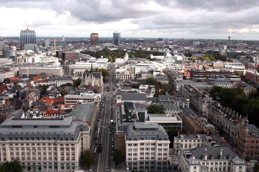 Skyline van Brussel