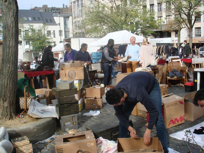 Vlooienmarkt aan Vossenplein