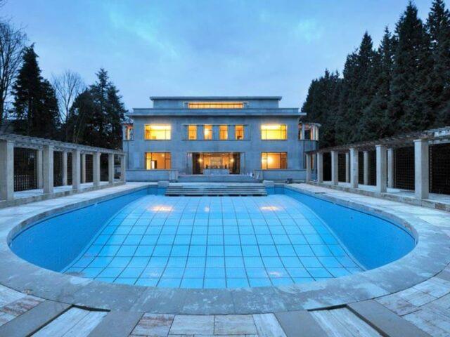 Villa Empain zwembad