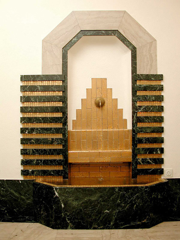 Clockarium© le Clockarium - artdeco fontein - Photo Jacques de Selliers