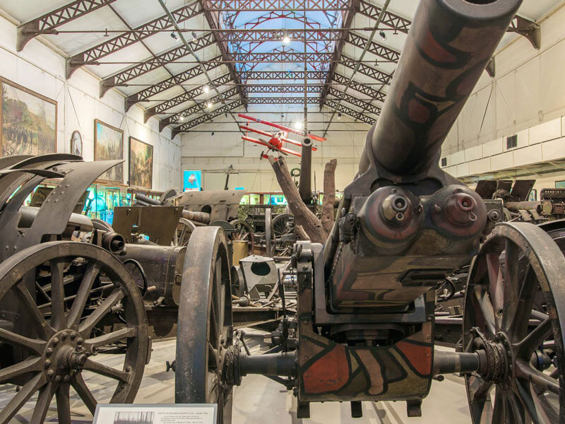 Legermuseum - artillerie